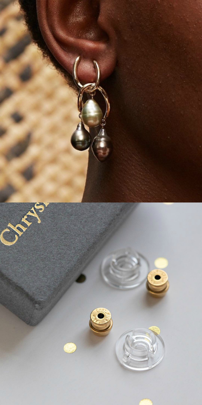 The precision engineered Chrysmela earrings back will make sure your earrings always stay on.