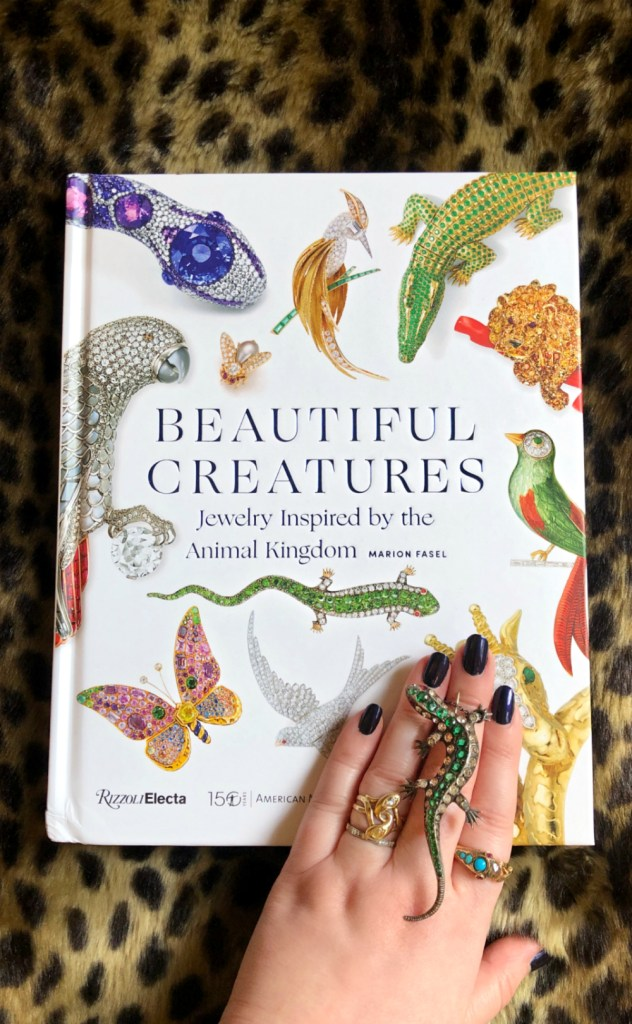 My review of Beautiful Creatures by Marion Fasel, a great new jewelry book about the jewelry of the animal kingdom.