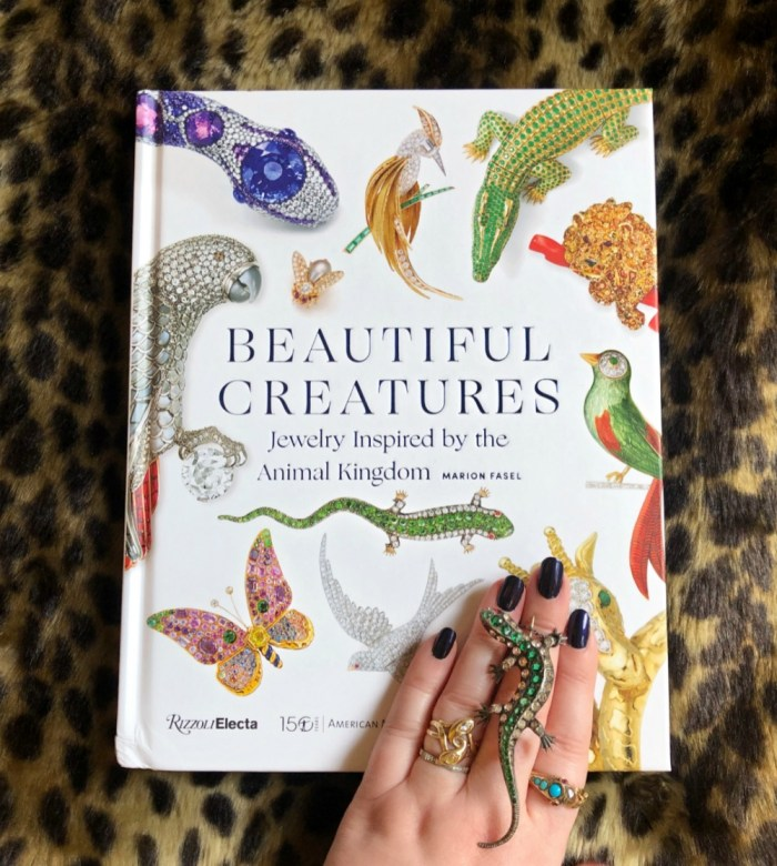 My review of Beautiful Creatures by Marion Fasel, a great new book about the jewelry of the animal kingdom.