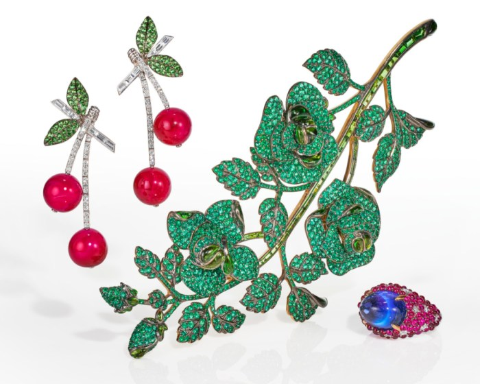 Bright, happy jewels by Michele della Valle jewels headed to auction at Christie's