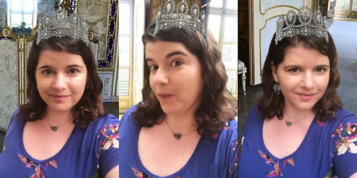 Playing with the Sotheby's tiara filter.