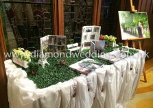 Photo Display with grass
