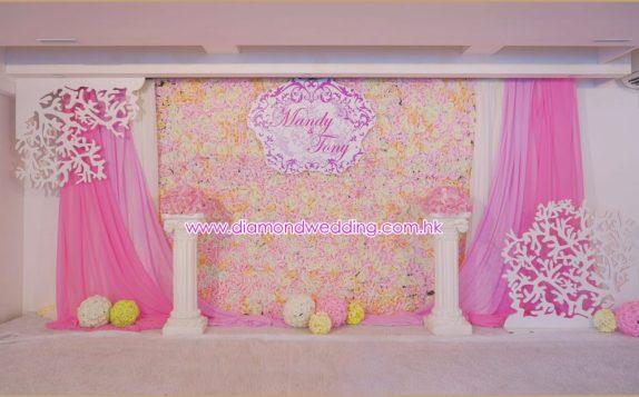Pink Florist Backdrop