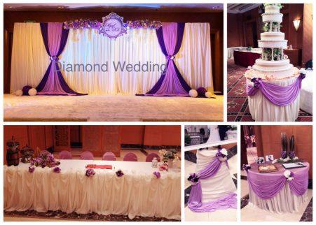 Wedding Decoration - Purple