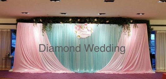 wedding decoration -tiffany blue and pink.