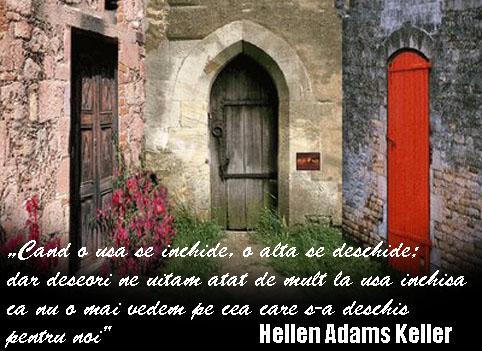 Citatul zilei: Cand o usa se inchide, o alta se deschide!