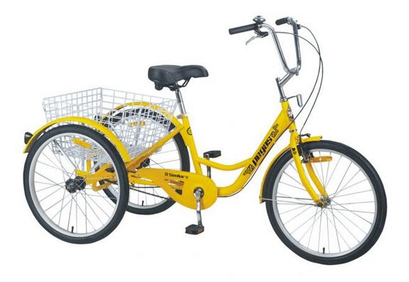 O tricicleta Pegas Senior pentru mama