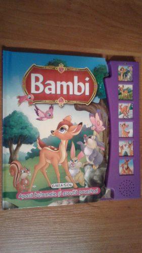 Cărți pentru copii - Bambi, apasă butoanele și ascultă!