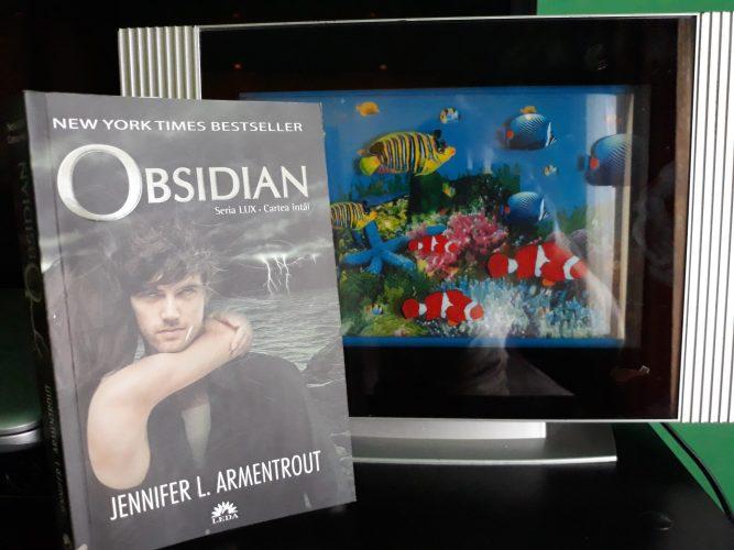 Seria LUX: Obsidian - o călătorie captivantă de la prima până la ultima pagină!