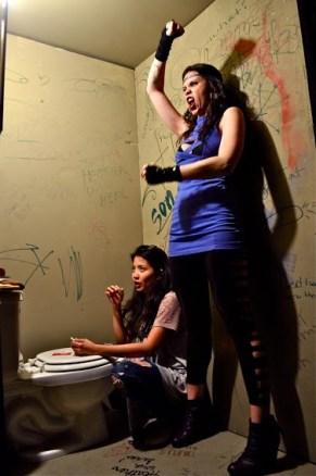 Kristin Villanueva and Sarah Saunders. Photo courtesy of David Eisenberg.