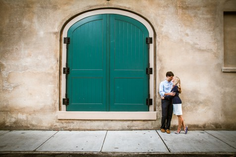 Historic Downtown Charleston Engagement Photo Session