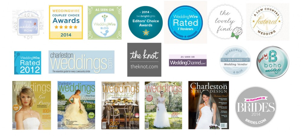 wedding awards received by diana deaver weddings