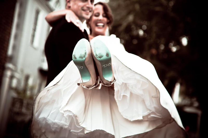 i do on the bottom of a brides shoe in charleston