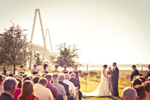 ravenel bridge wedding ceremony
