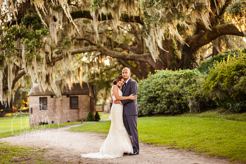 After the Wedding Photo Session at Middleton Plantation, Charleston SC