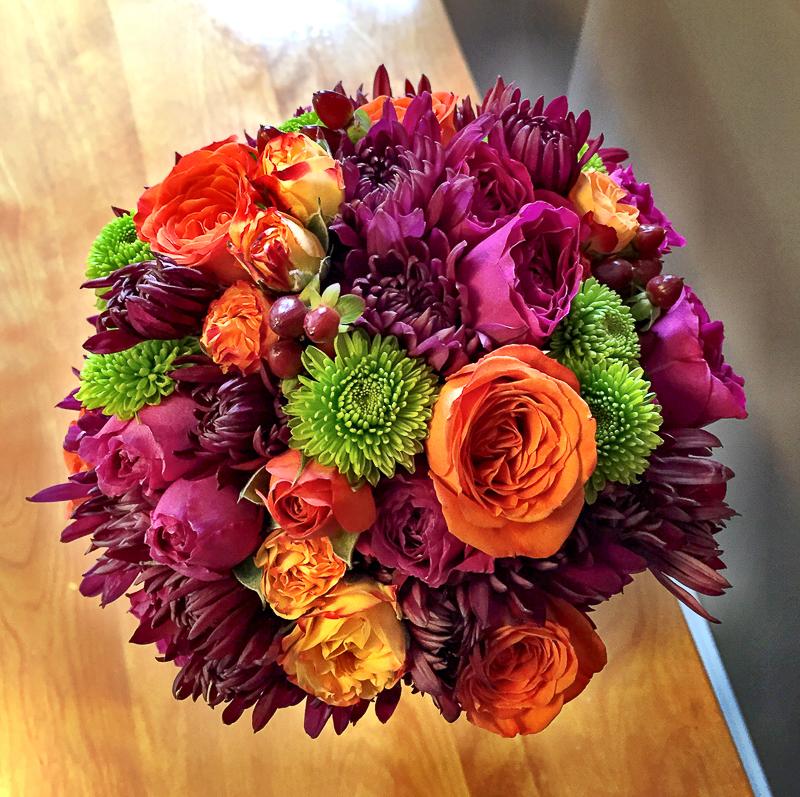 cheap fall wedding flowers