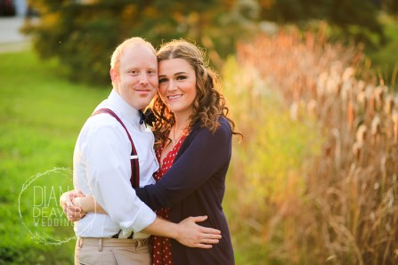 Holiday Engagement Session at Festival of Lights at James Island County Park