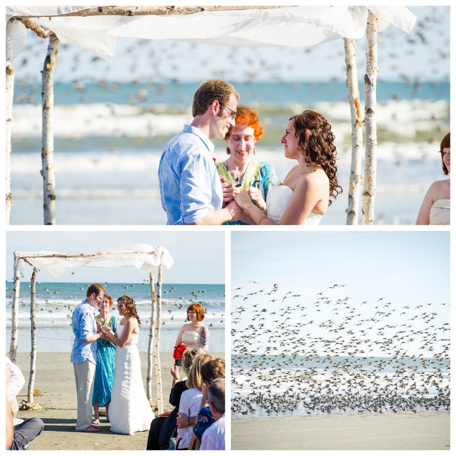amazing wedding moment kiawah island sc sandcastle