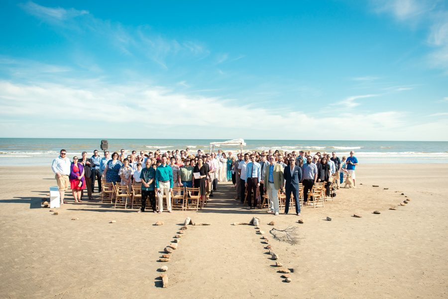 beach wedding ceremony kiawah sc