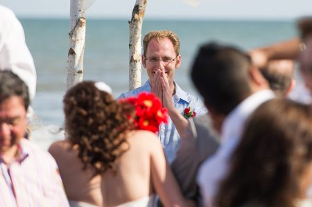 emotional groom kiawah