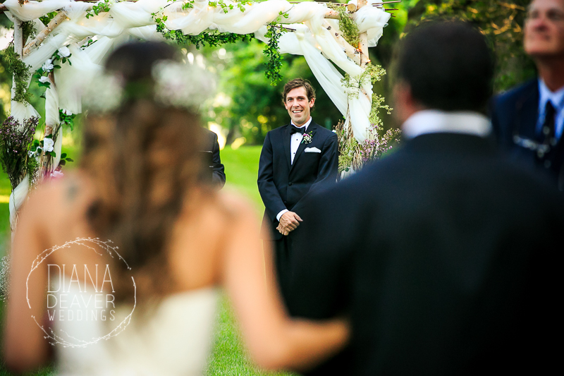 wedding ceremony emotional
