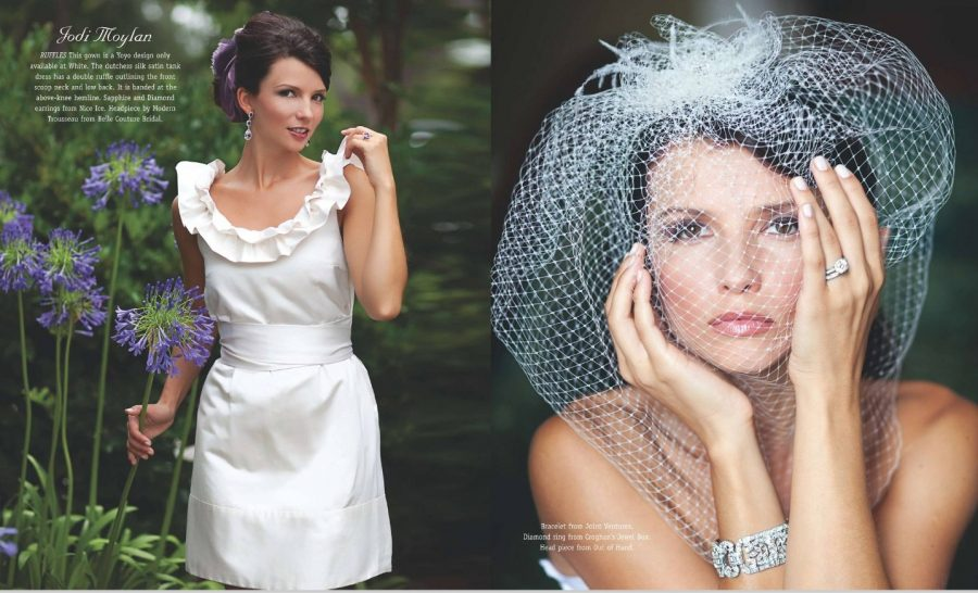 charleston style and design magazine 2010 bridal spread photographed by diana deaver (1)