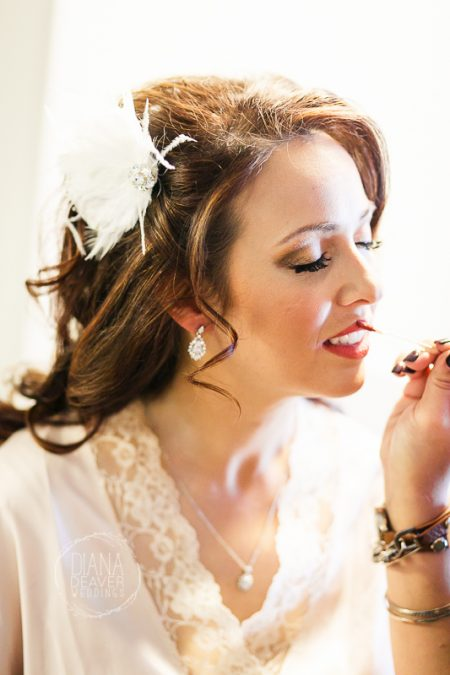 bride getting ready photos greenville sc