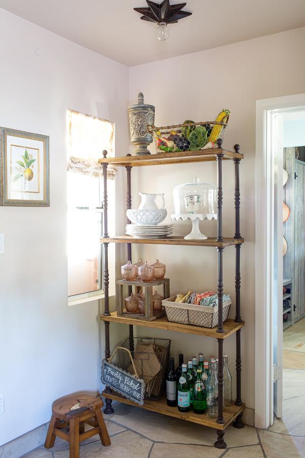 Rustic Industrial Kitchen Diana Elizabeth