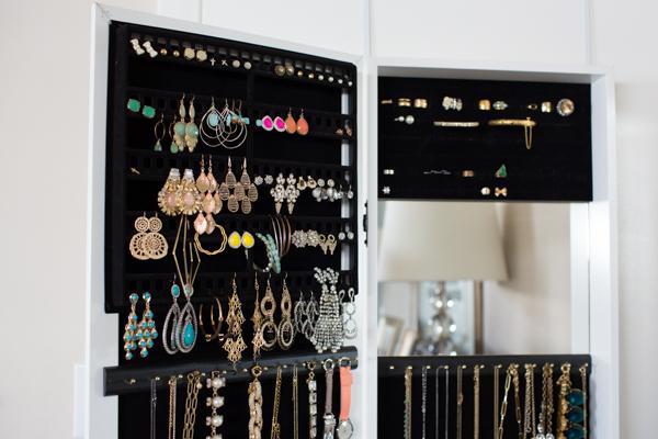 Over the door hanging Jewelry Organizer