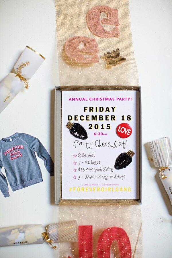 Layered Party Invitation