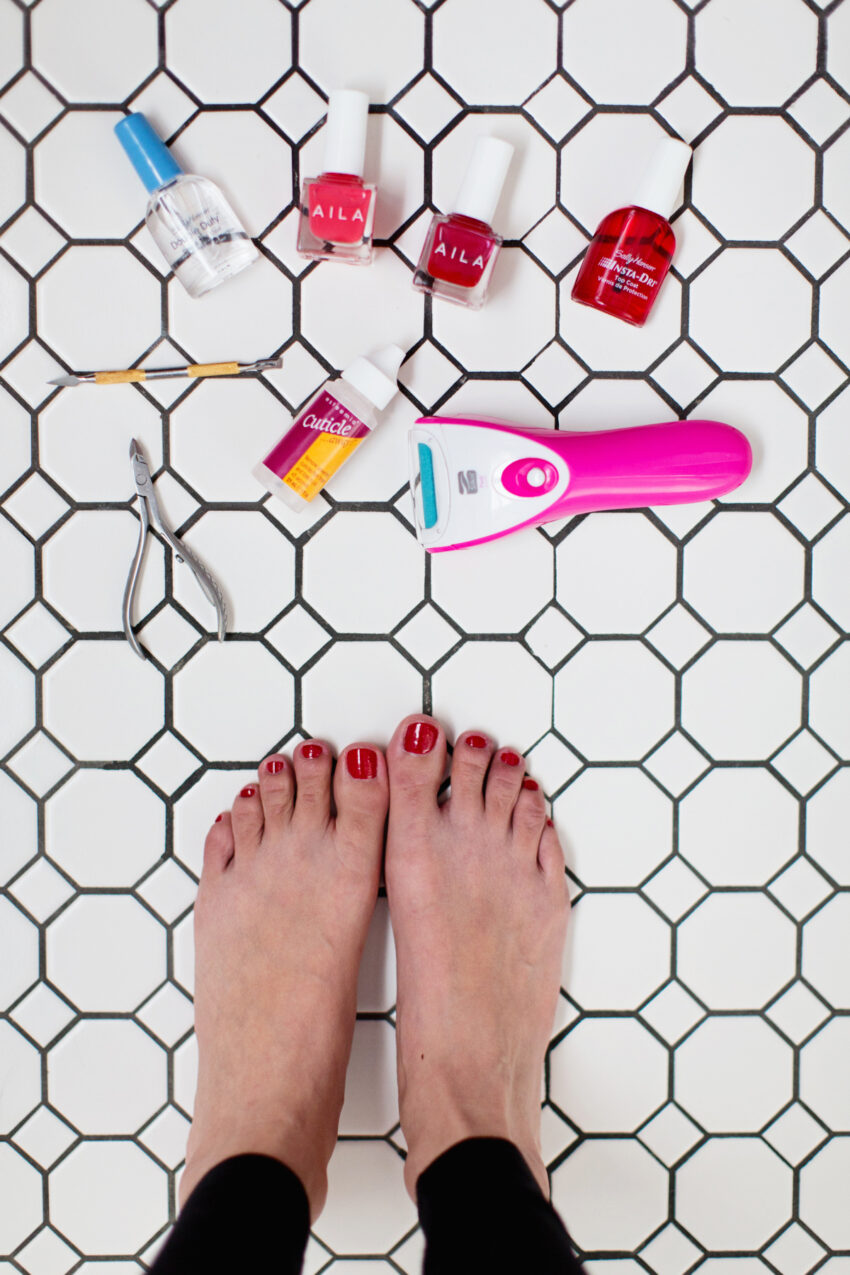 Mastering the at Home Pedicure