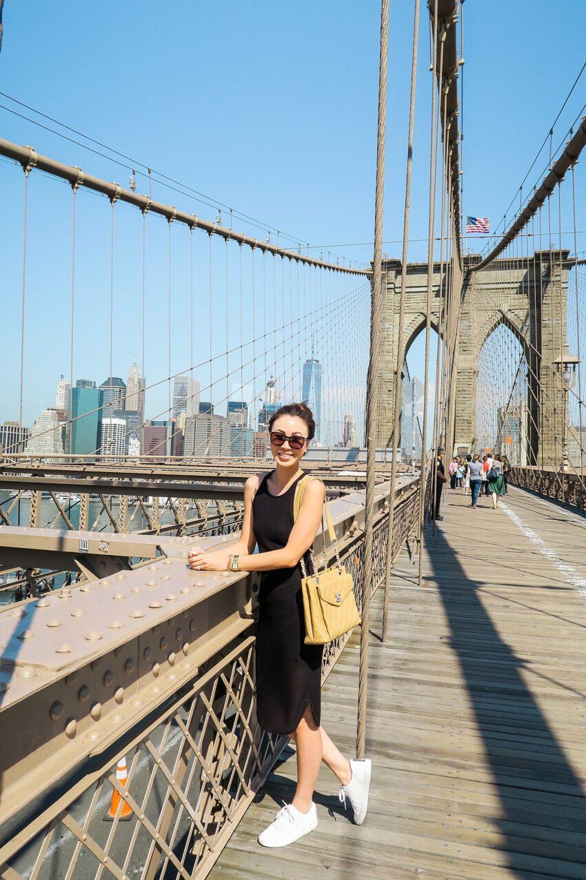 Sneakin' around New York
