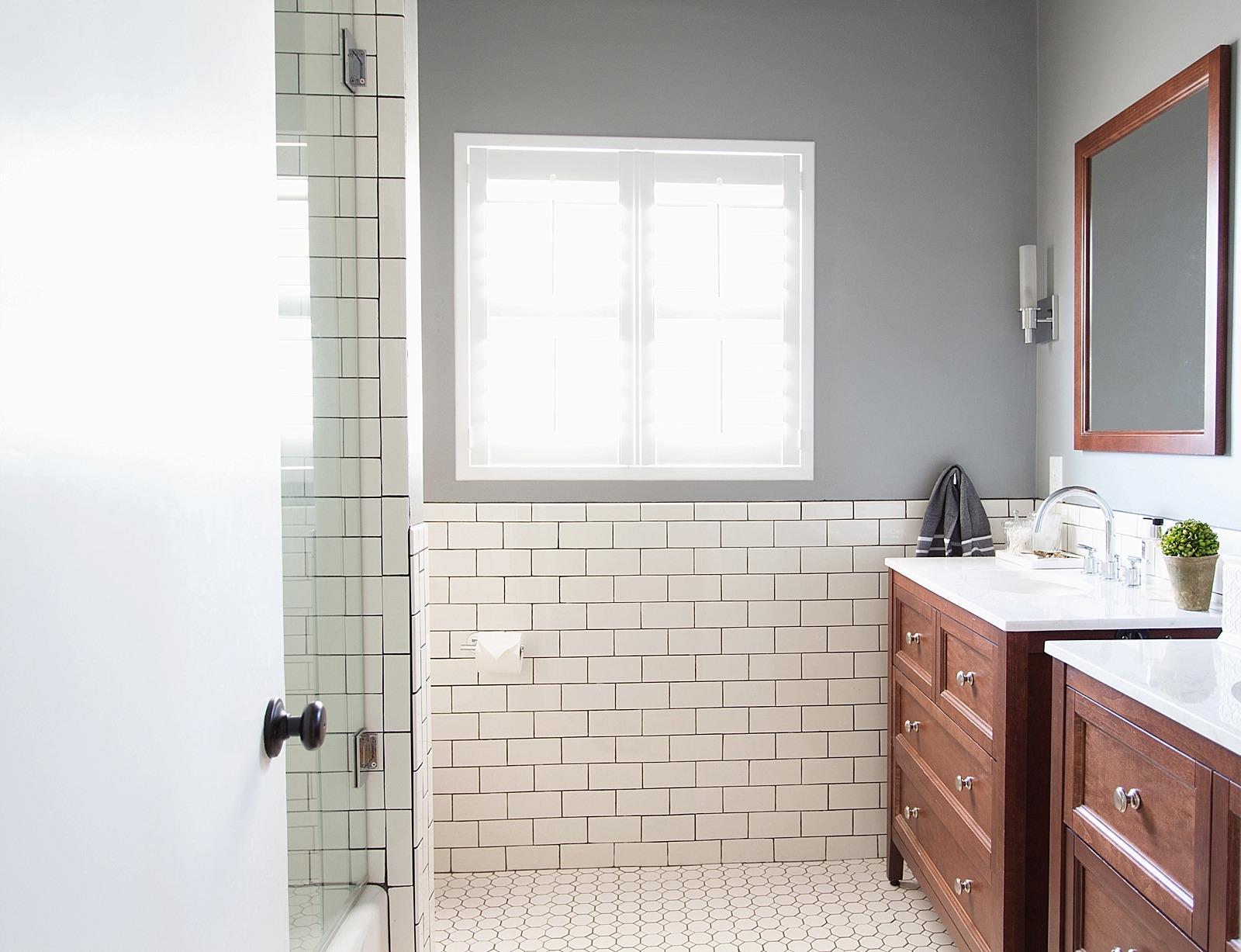 How to refresh a bathroom style | Diana Elizabeth