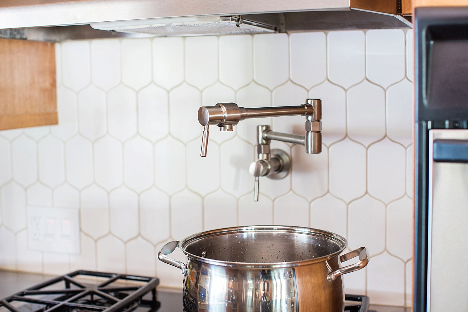 how to install a pot filler and where diana elizabeth