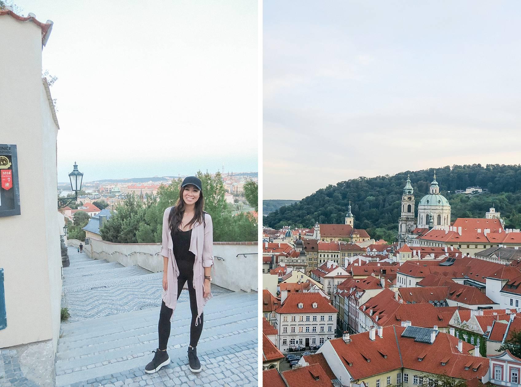 Photo guide to Prague: Steps to Prague Castle