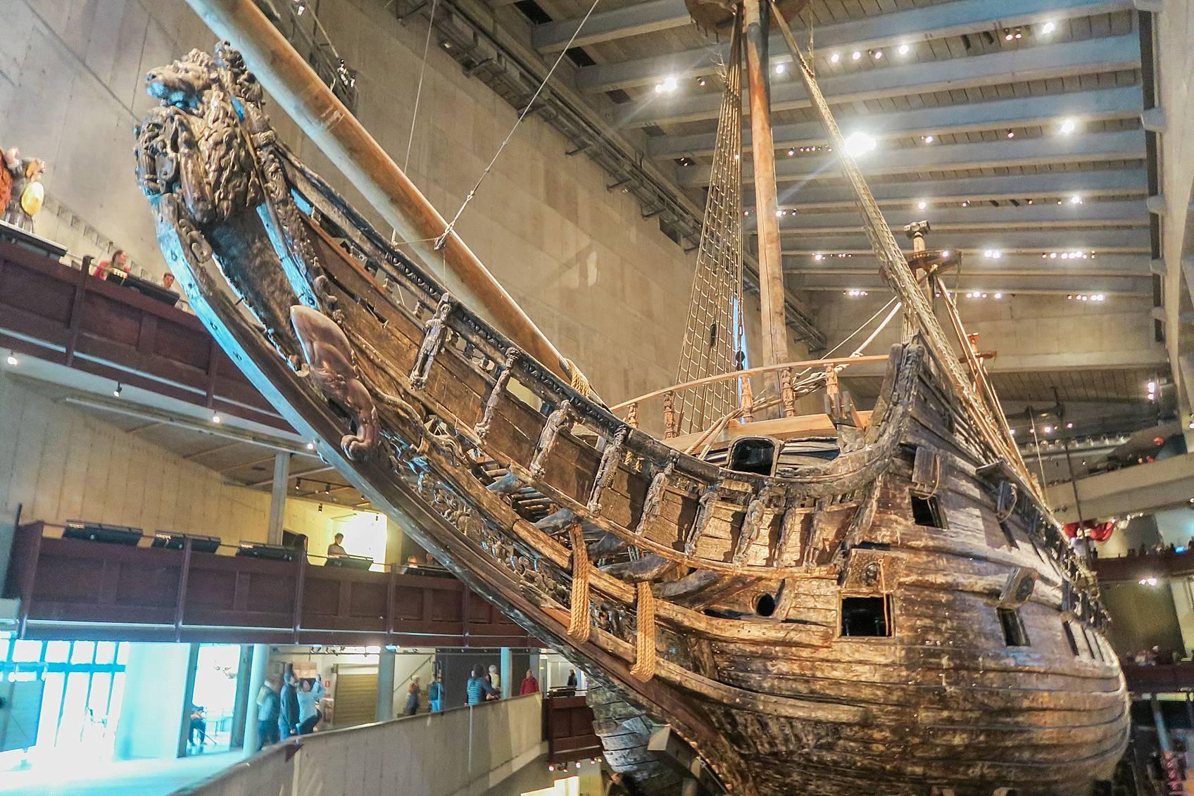 Photo tour of Stockholm: Vasa museum