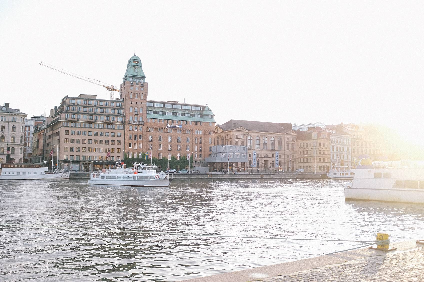 Photo tour of Stockholm: by the ocean ships