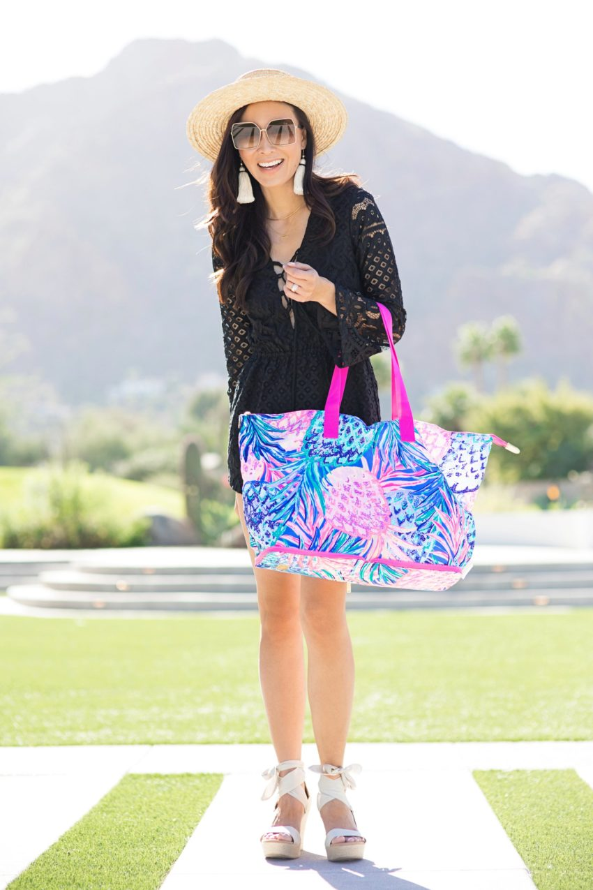 Packable tote Lilly Pulitzer