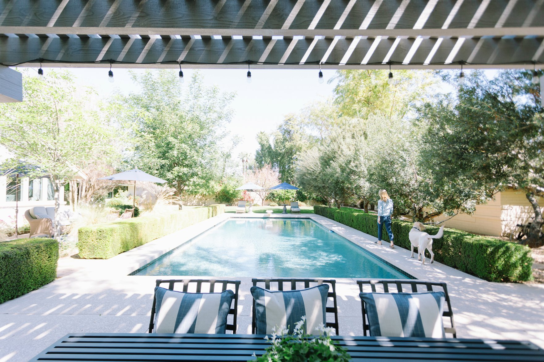 Central Phoenix arizona house tour To Have to Host Lory Parson backyard pool