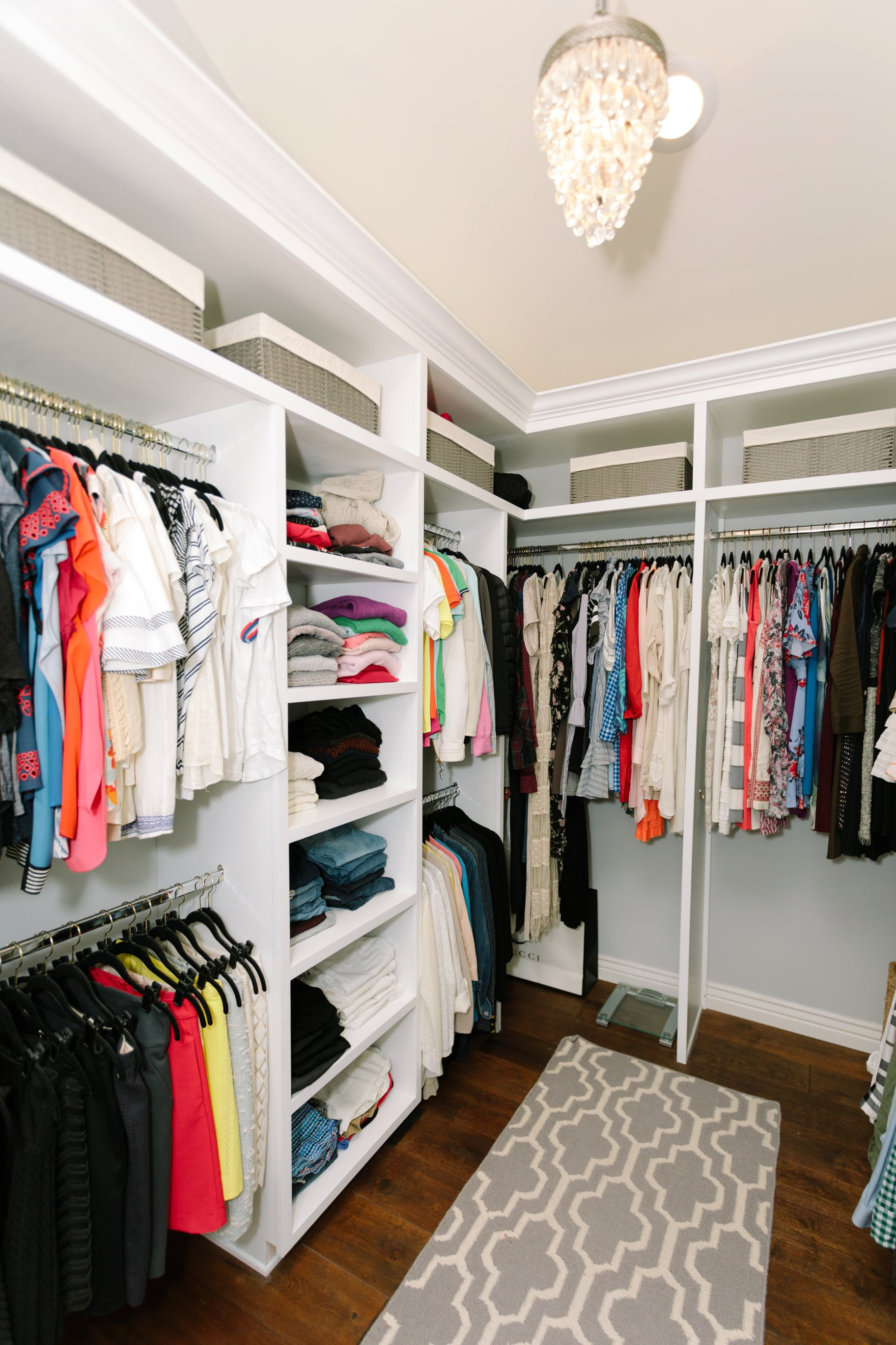 Central Phoenix arizona house tour To Have to Host Lory Parson living area spaces closet