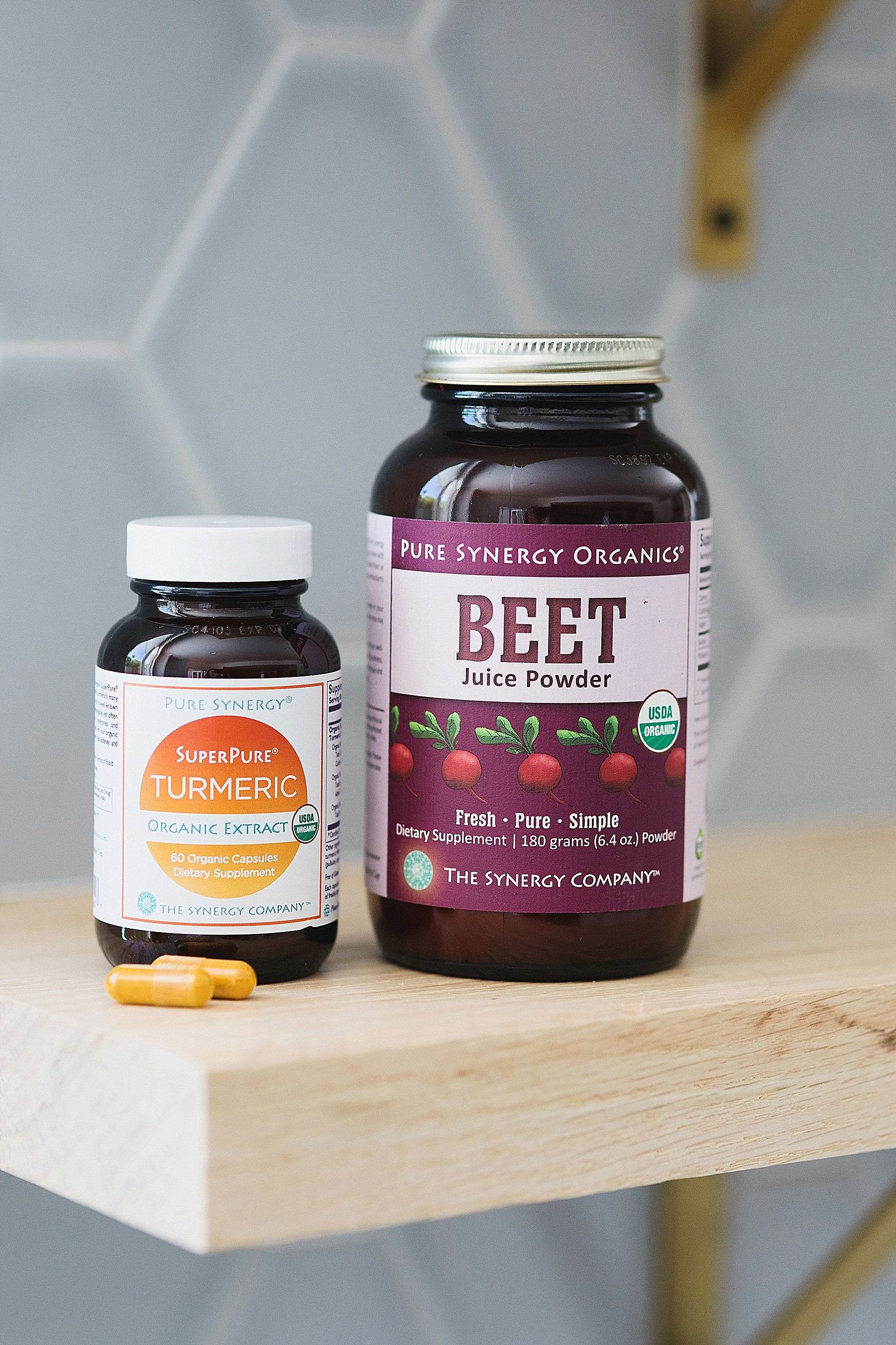 Pure Synergy: Organic Beet Juice Powder & Turmeric Extract