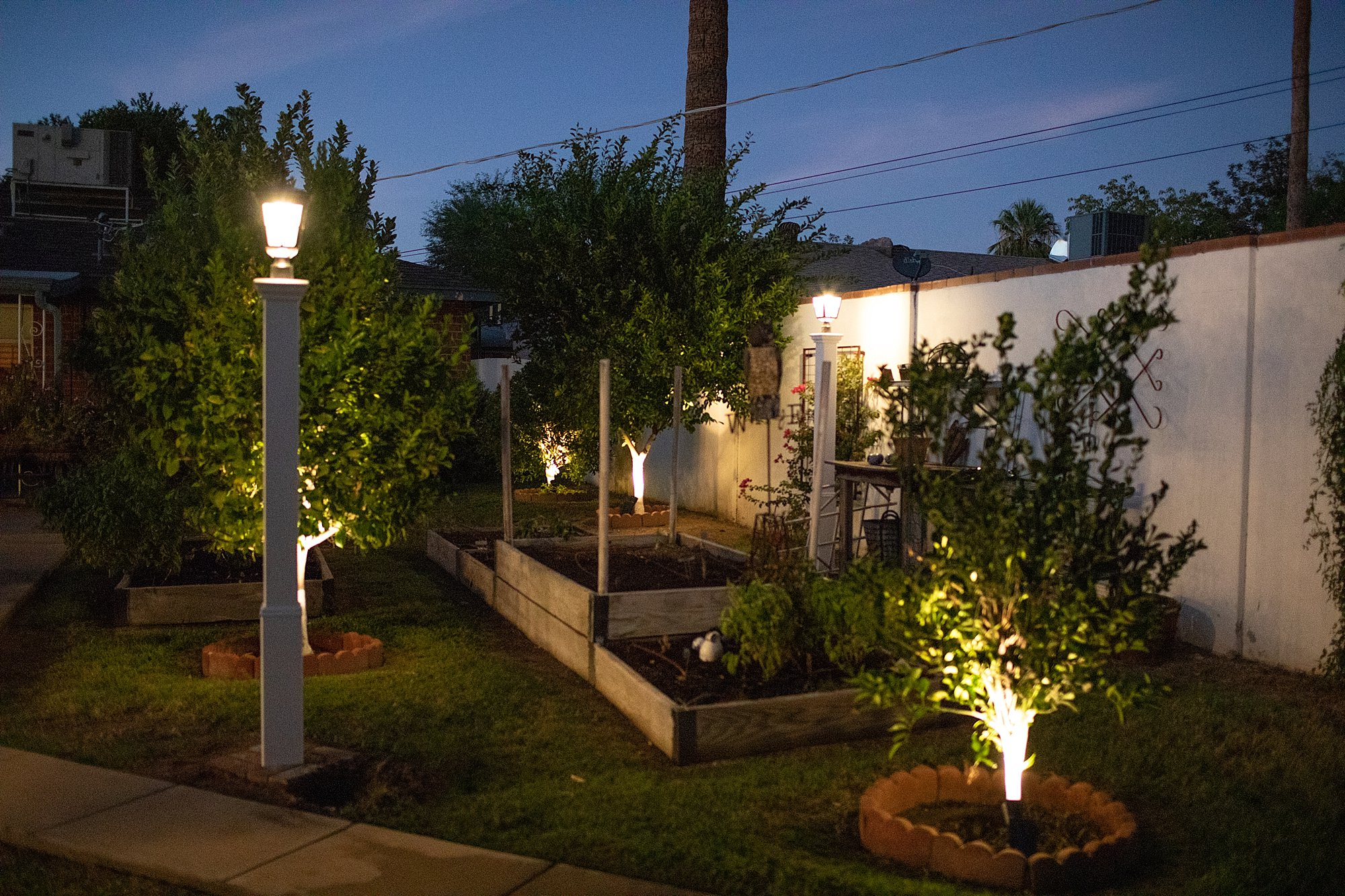 solar lights warm LED in the garden review bought from Amazon!