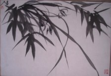 chinese-painting-on-rice-paper-bamboo-orcha