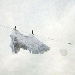 Diana Jane Art - La Tristesse, art, photography, digital art, skirt, balloon, wall art