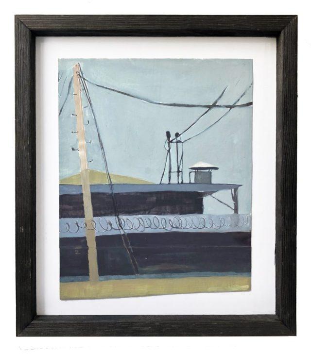 diana kohne framed painting