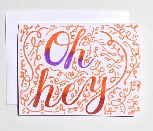 oh hey card