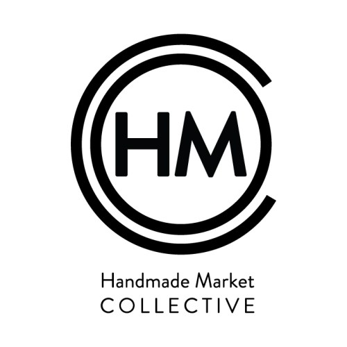 los angeles handmade market logo design