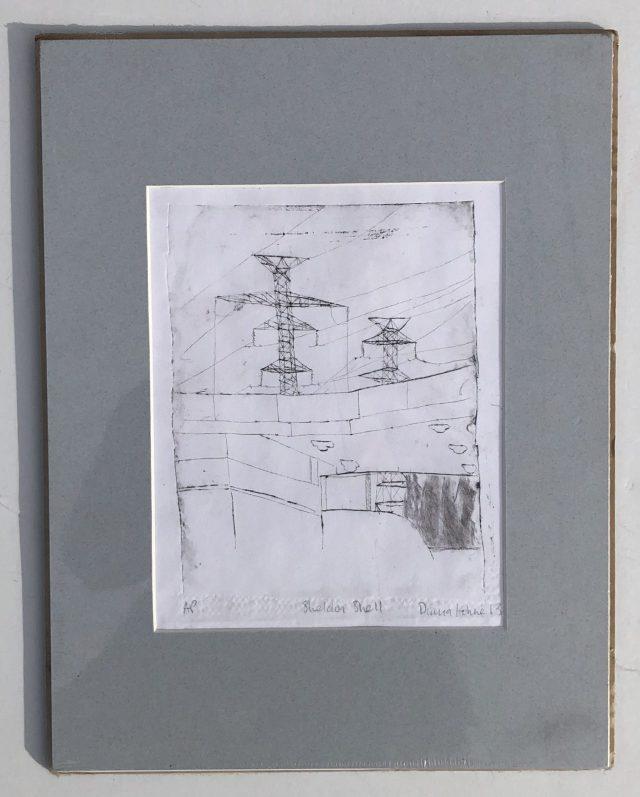Diana Kohne etching