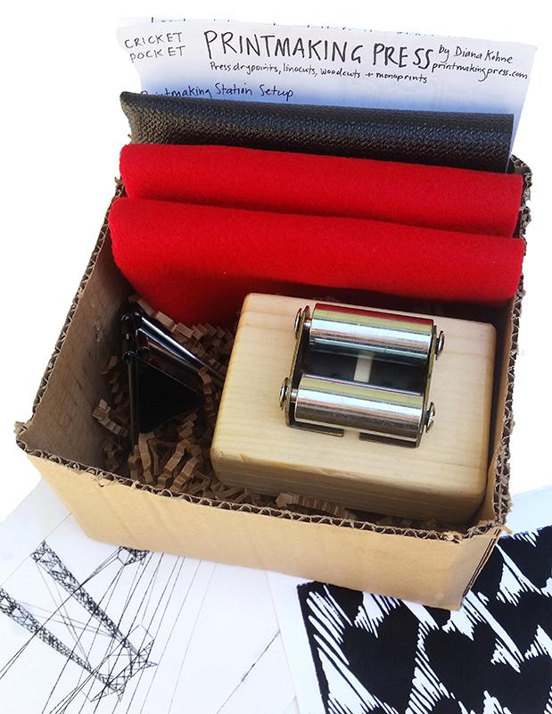 pocket press printmaking kit