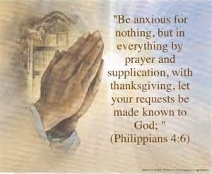 Be Anxious in nothing